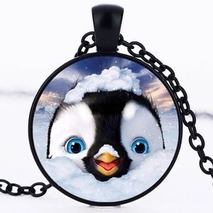 Necklace- NEW- Cute little  Penguin in Snow